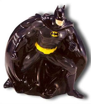 "Batman Cookie jar/ Frm ""THE BIG BANG THEORY"" Frm bd: Cool Stuff"