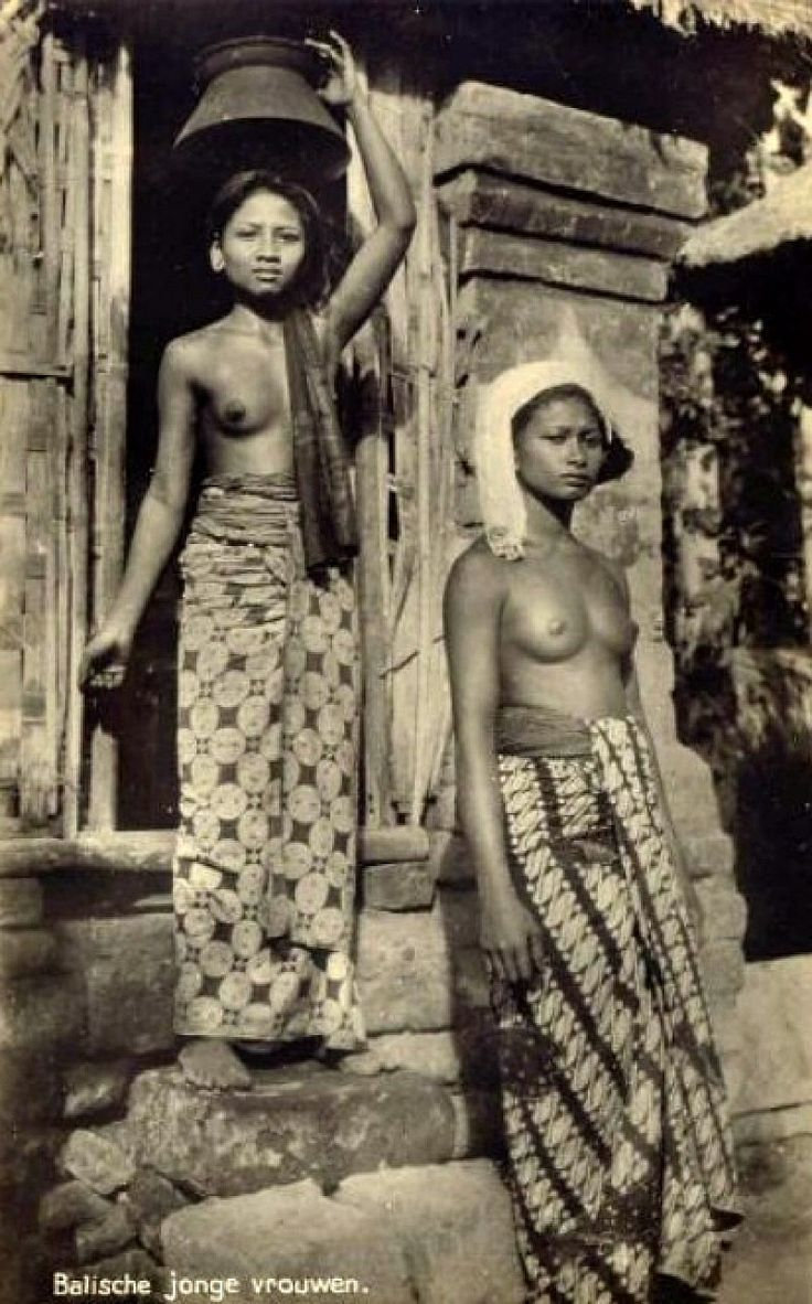 Indonesia, two Balinese Women