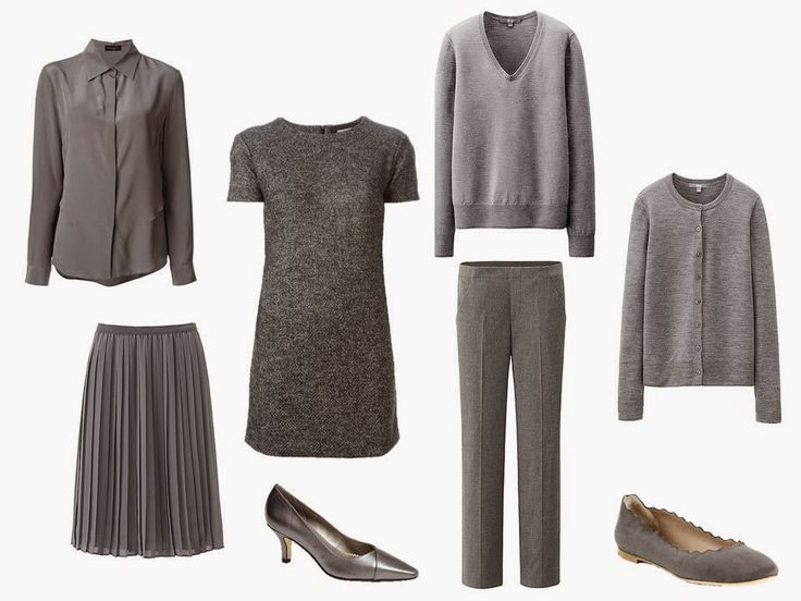 The Vivienne Files: A Grey Wardrobe with Silver and White Accessories