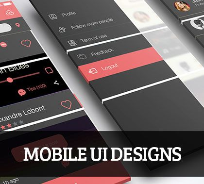 gray mobile ui design - Google Search