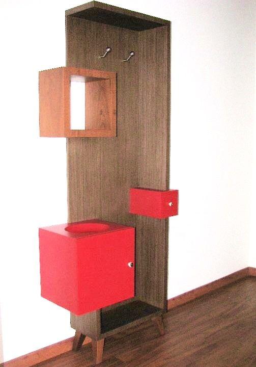Diseño de muebles, muebles a la medida, muebles en madera,  Muebles especiales Furniture design Wood furniture  Perchero y paragüero