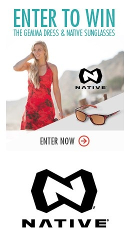 IN TO WIN~ #Native shades and an #ISIS dress are up for grabs! http