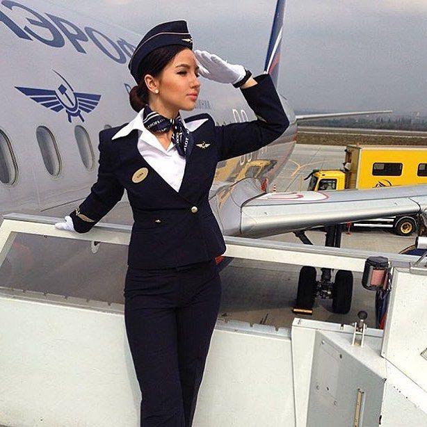 Aeroflot cabin crew https://www.instagram.com/p/BMTVNrgDoC9/