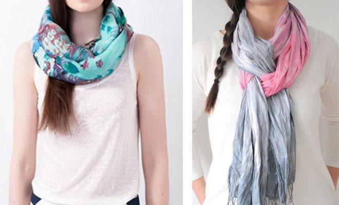 Bufandas y pañuelos: cómo llevarlos