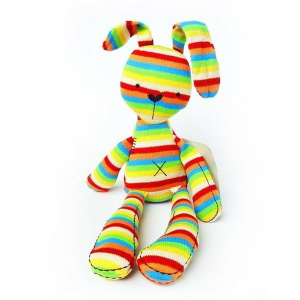Stuffed Rainbow Bunny