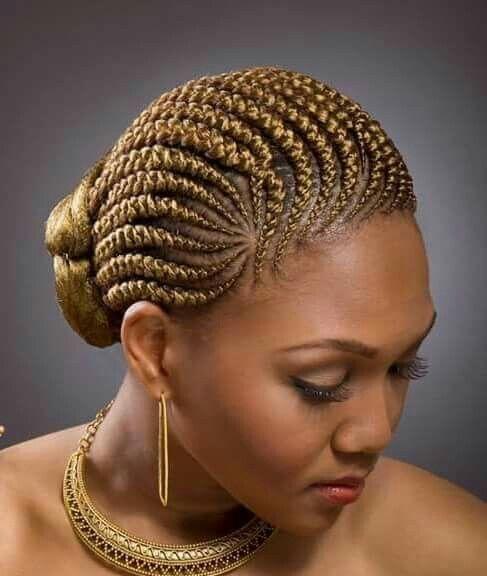 Short scalp braids