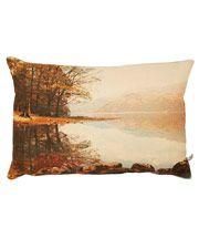 Red Lake Linen Cushion