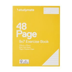 Studymate Premium 9x7 Exercise Book 48 Pages    PMG 2 for 0.88