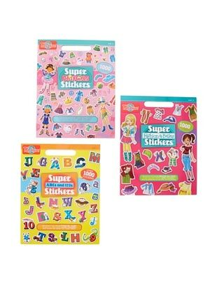 29% OFF T.S. Shure Daisy Girls Fashion & ABC Sticker Book Set