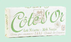 COTE D'OR Classic tablette chocolat lait noisette 150g