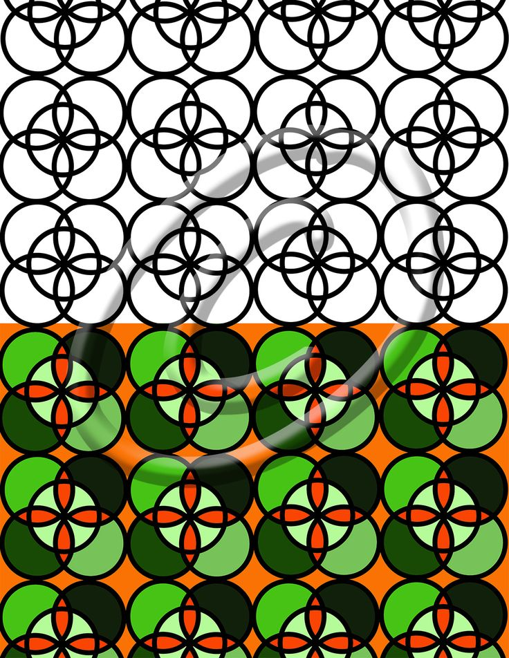 Downloadable Stress Relief Loops Black And White Circle Pattern Coloring Book Page For 5 Minute