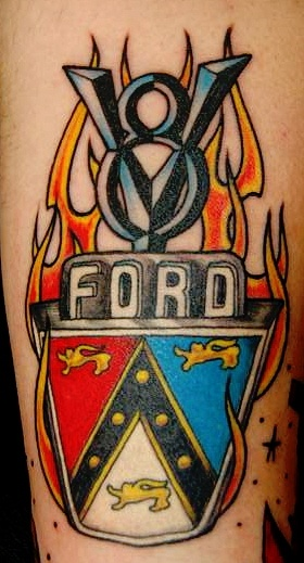 Ford Tattoo Tattoos Cool Tattoos Pinterest Ford Tattoo