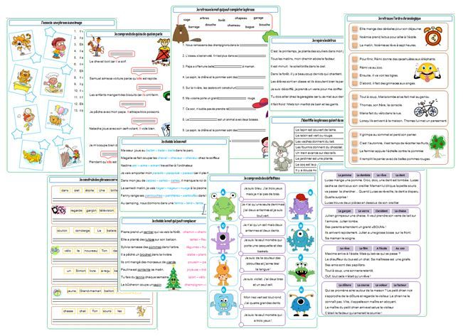 Dossier de compréhension CE1