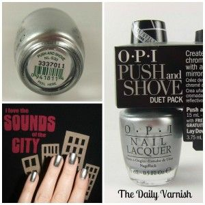 OPI Push and Shove Cover
