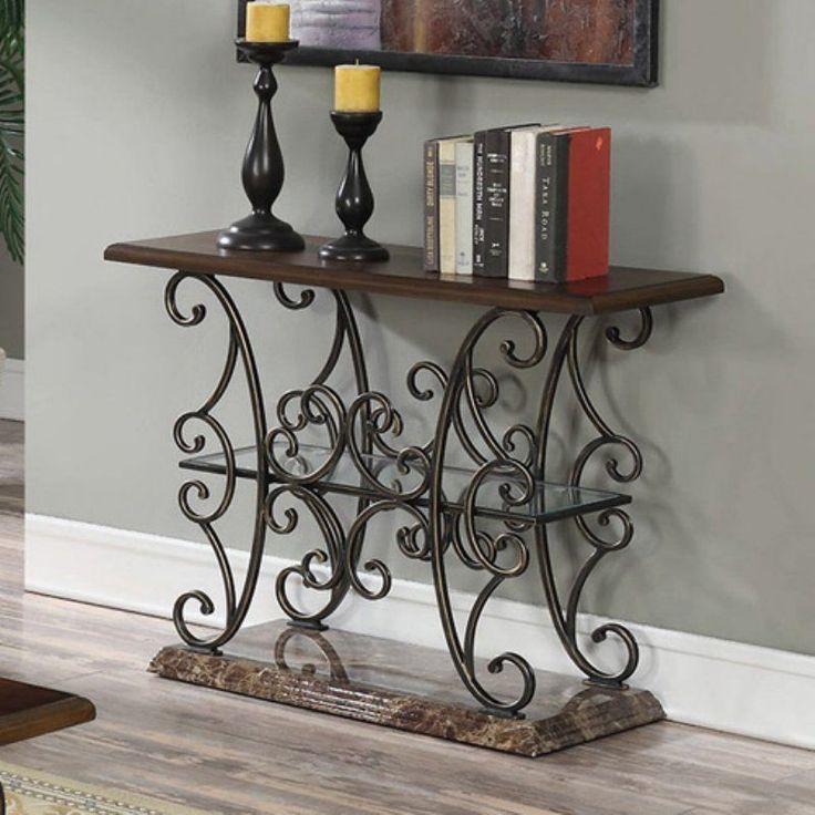 Coaster Furniture Faux Marble Top Sofa Table - 705119