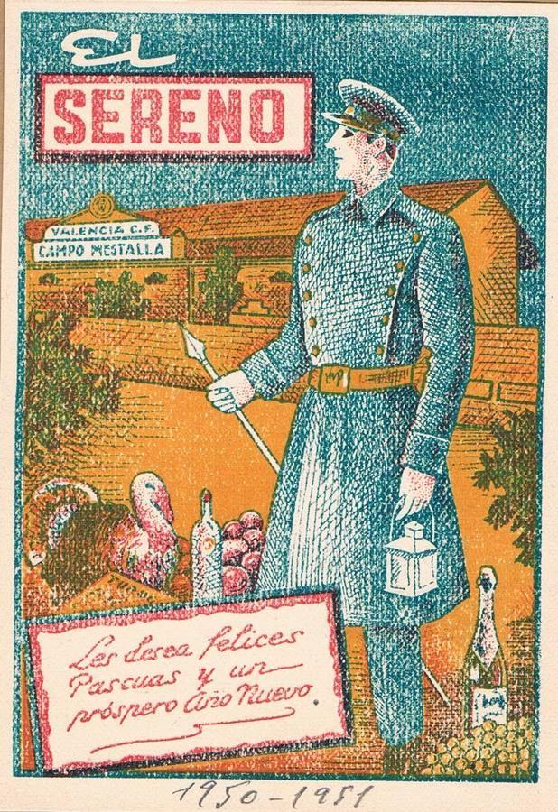 Postales antiguas de Navidad