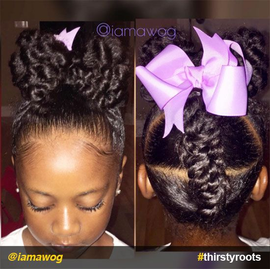 Easter Hairstyles For Adults : 25 best cornrow styles for little girls ideas on pinterest