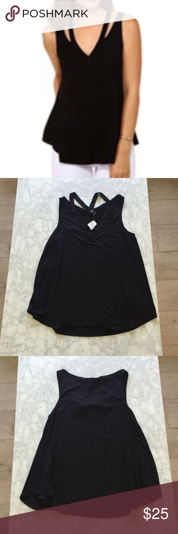 Windsor Strappy Top *NEW* Windsor black Strappy top! Size small! 🚫NO TRADES🚫 Tops