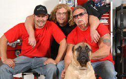 Paul Jr., Micky, Paul Sr. & Gus