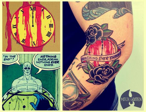 watchmen tattoo - Google Search