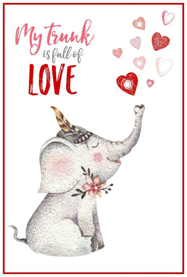 Free Printable Valentine39s Day Cards and Tags Printable