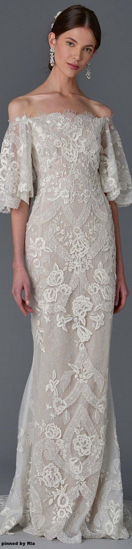 Marchesa Bridal Spring 2017 l Ria