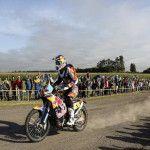Diego Demelchori finalizó en la posición 52 en la etapa Baradero - Villa Carlos Paz