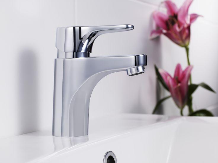 Tvättställsblandare Nautic. Energiklass A, som sparar vatten och energi.
