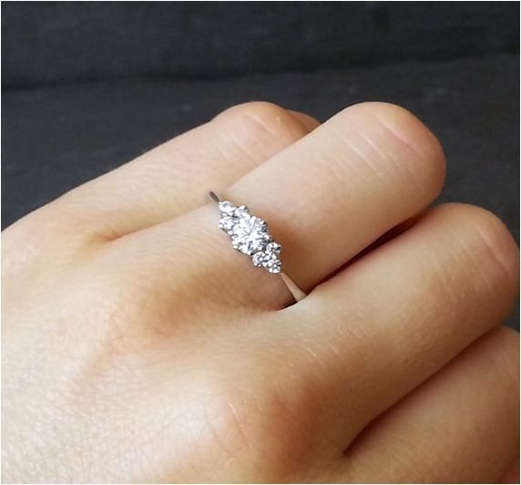 Unique Simple And Minimalist Engagement Ring You Want To https://bridalore.com/2017/12/15/simple-and-minimalist-engagement-ring-you-want-to/ #ringly