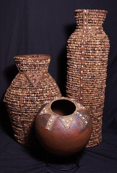 African Pottery Venda Lemba Pot - South Africa