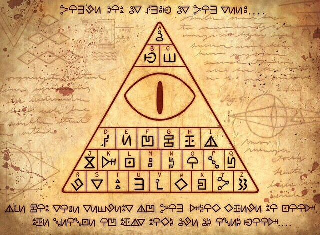 Decipher | Gravity Falls<<<<<fuuuuudddge. So many of these have come true in the show.