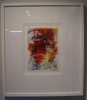 Mono Print I, James Lawrence