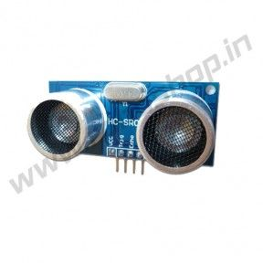 Ultrasonic Sensor 4-Pin @http://www.roboshop.in/sensors/ultrasonic-sensor-4-pin