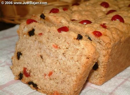 Bajan sweet bread- like a cross between a scone and a biscotti