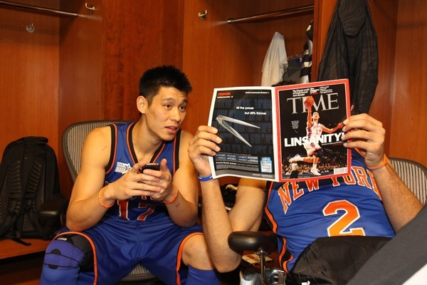 Jeremy and Landry read the Linsanity issue of TIME asia