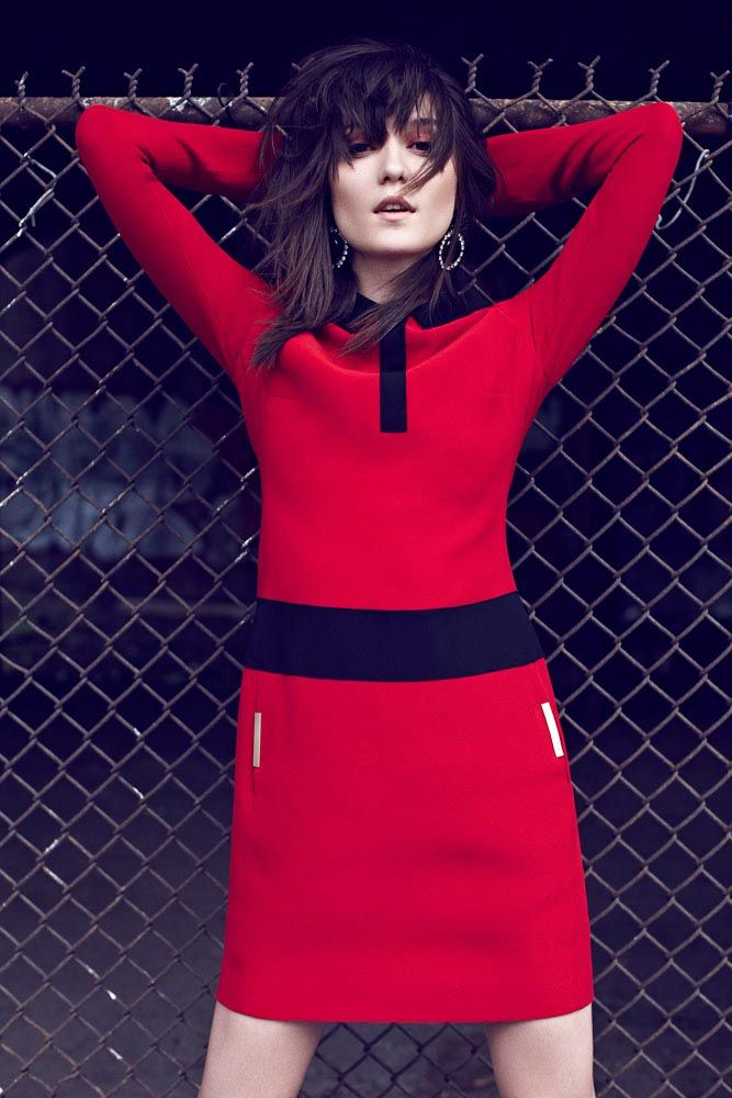 Irina Lazareanu Covers Dress to Kills Fall 2012 Issue, Shot by Max Abadian