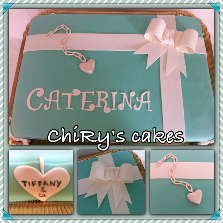 Chi non è innamorata dello stile Tiffany??? Io si... Semplicemente Amorevole #Tiffany #cake #torta #cresima #fiocco #chiryscakes #cakedesign #ilovemyhobby #pastry