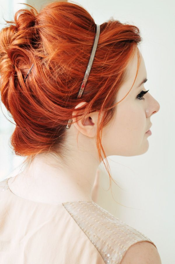 Love this vibrant shade of red hair <- Come along, Pond.