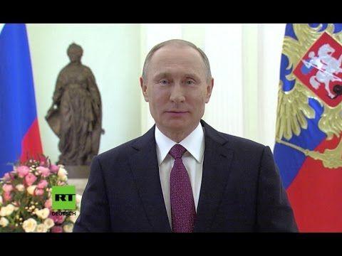 Ansprache zum Weltfrauentag: Putin spricht Frauen seine Bewunderung und ...