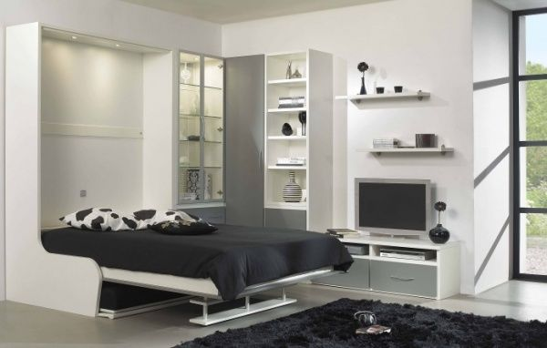 moins moderne t te de lit avec rangement pinterest. Black Bedroom Furniture Sets. Home Design Ideas
