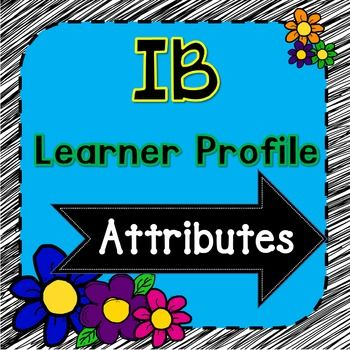 A fun way to display the International Baccalaureate Learner Profile. Brighten up your classroom with the IB Learner Profile Attributes. These IB signs come complete with chalkboard and black and white versions of the Learner Profile. I've included black dot paper that you can print off for a sign post and a title sign for the top of your display.