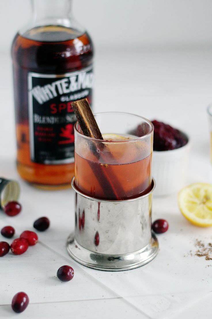 Fall For Drinks Cranberry Spiked Hot Toddy recipe