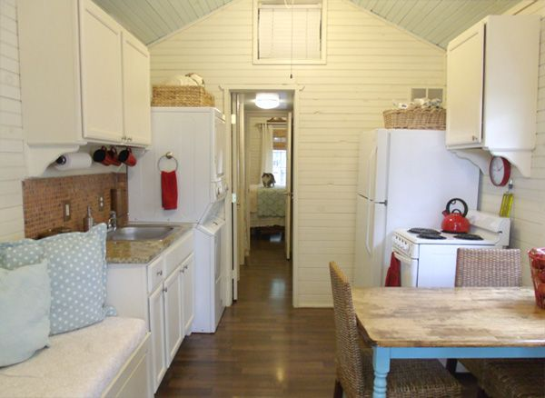 Tiny house kitchen (320 sq ft house!)