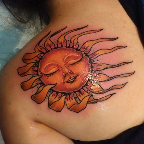 25 best ideas about sun tattoo designs on pinterest faces of moon sun designs and moon. Black Bedroom Furniture Sets. Home Design Ideas