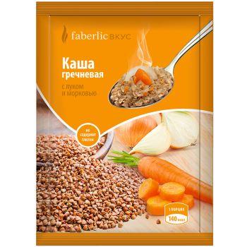 Продукт моментального приготовления Каша гречневая с луком и морковью