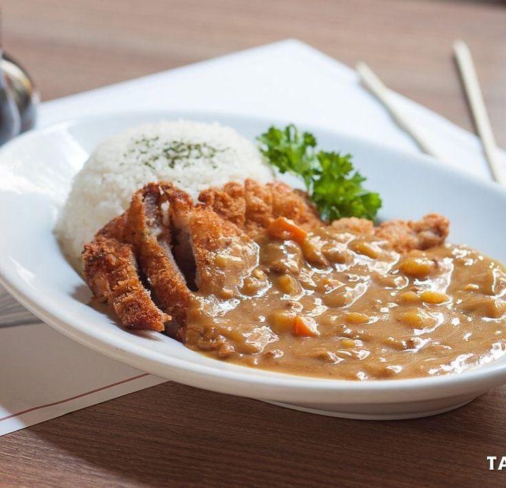 Solo en #Ramenkagura y #Hanakura podrás disfrutar de un auténtico katsucurry japonés