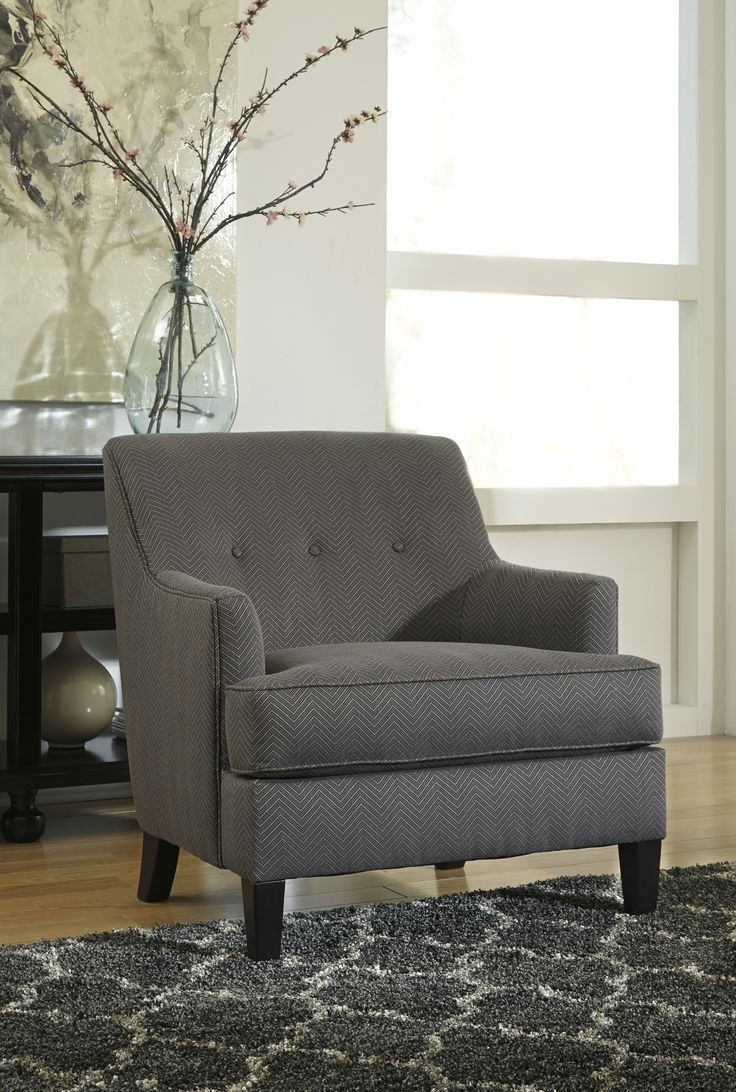 689XX Crislyn Accents Gray Chair