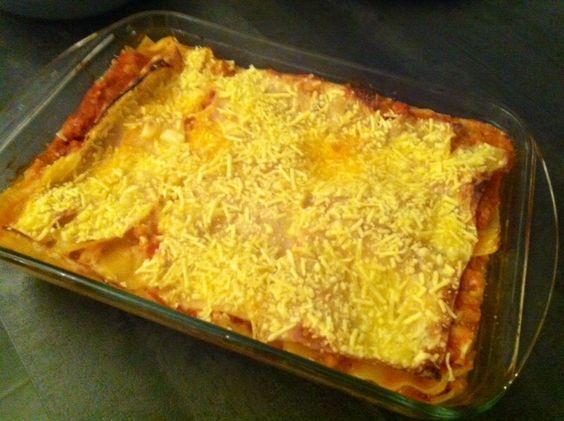 Lasagnes aux protéines de Soja texturé   Protéines de soja texturées, Lasagnes, Protéine de soja