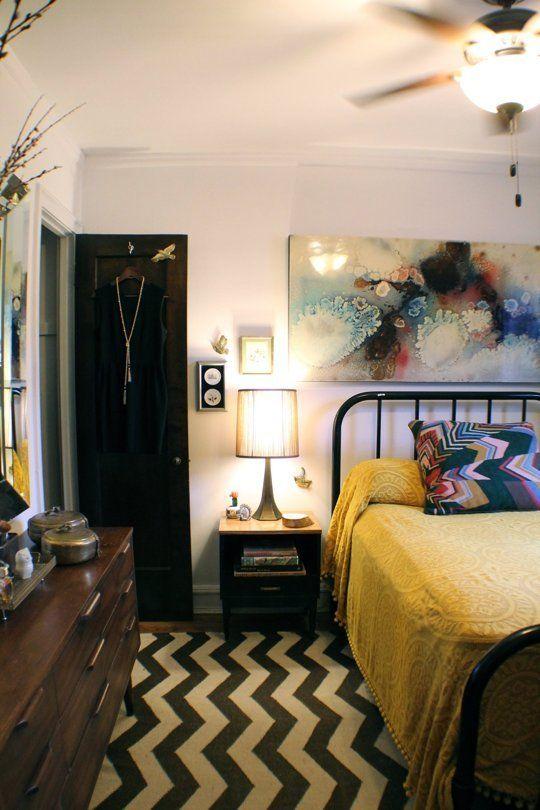Lauren's Dark & Dramatic Design — House Call. Love this bedroom !