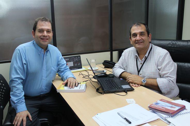 #momentosescolme Hoy nos acompañó en ESCOLME  Rafael Vargas Director del Programa de Publicidad de la Fundación Universitaria Luis Amigó
